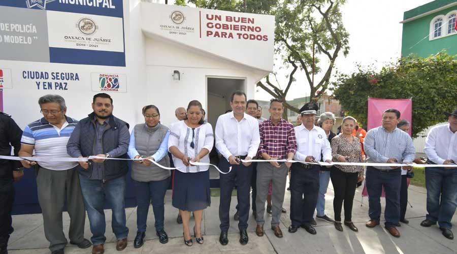 Rehabilita municipio capitalino módulos de Policía | El Imparcial de Oaxaca