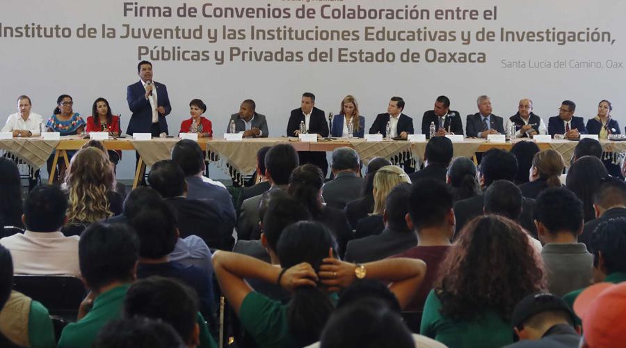 La UABJO participa en la nueva política de educación del Gobierno del Estado | El Imparcial de Oaxaca