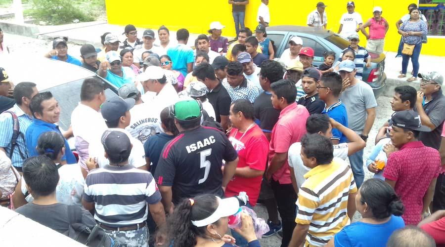 Salineros buscarán vías para exigir indemnización   El Imparcial de Oaxaca