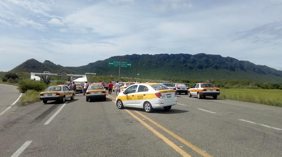 Taxistas de Juchitán bloquean vías en Oaxaca | El Imparcial de Oaxaca