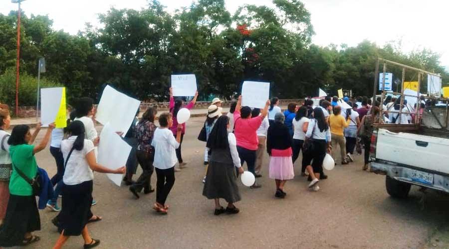 Marchan en Huajuapan por la vida y la familia | El Imparcial de Oaxaca