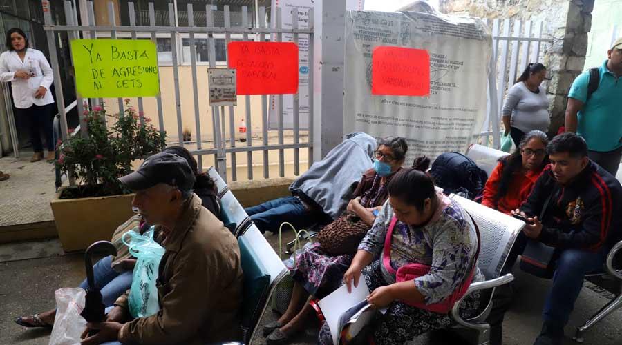 Suspenden servicio en CETS por retiro de comedor a sindicalizados   El Imparcial de Oaxaca