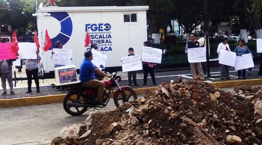 En Huajuapan, Antorcha Campesina exige obras pendientes del 2018 | El Imparcial de Oaxaca
