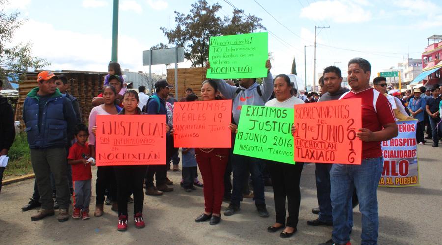 Demandan justicia, víctimas de Nochixtlán en 2016 | El Imparcial de Oaxaca
