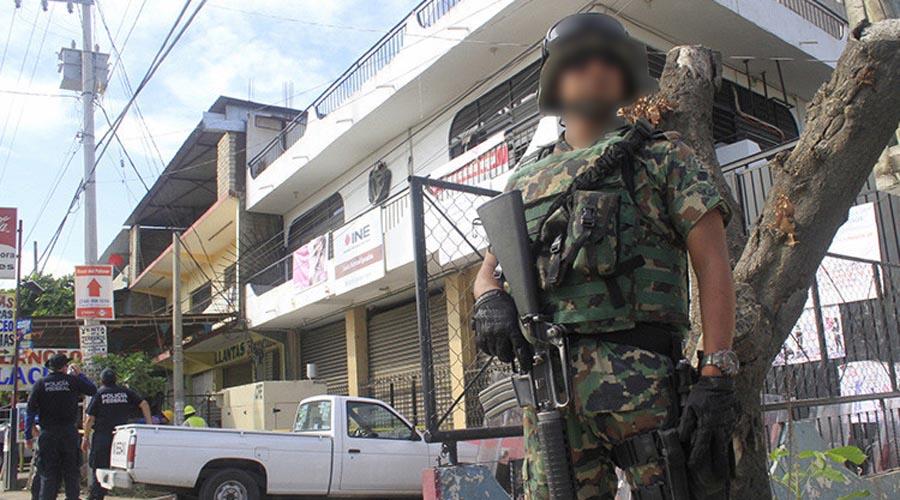 Vigilan en la entidad oaxaqueña 19 mil 564 elementos de seguridad: Sedena | El Imparcial de Oaxaca