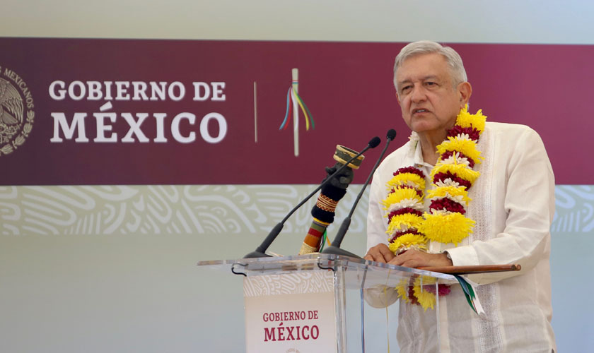 Usar la fuerza es de tiranos: AMLO | El Imparcial de Oaxaca