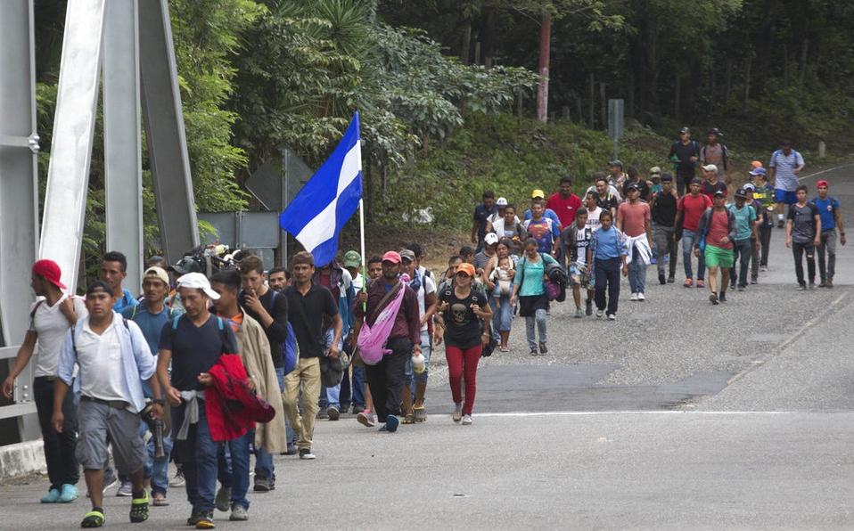 Guardia Nacional frena el paso de nueva caravana migrante | El Imparcial de Oaxaca