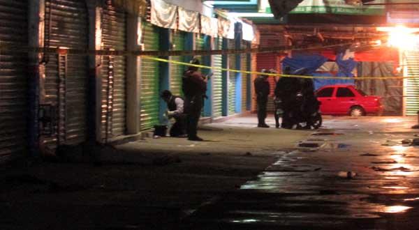 Halla la muerte en un pasillo de la Central de Abasto | El Imparcial de Oaxaca