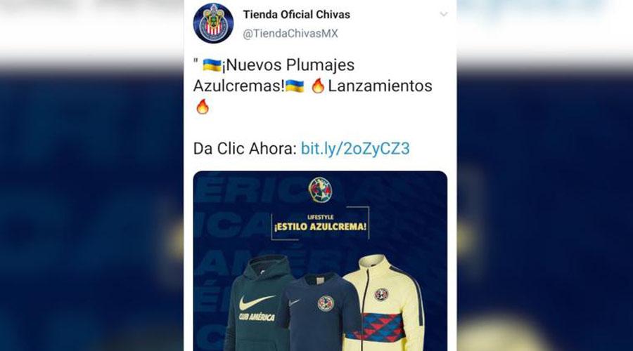 Tienda oficial de Chivas se disculpa por vender ropa de América | El Imparcial de Oaxaca