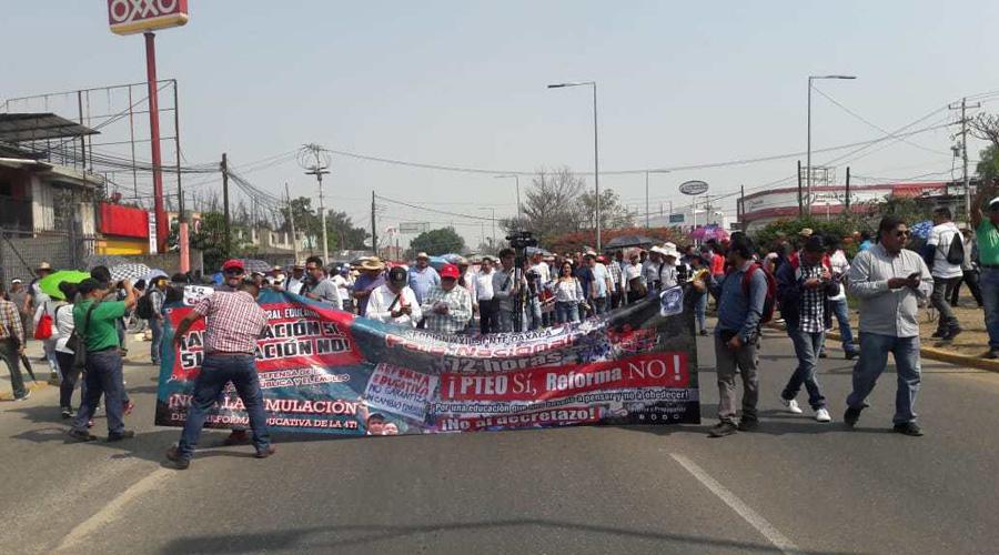 Va Sección 22 por PTEO como ley educativa | El Imparcial de Oaxaca
