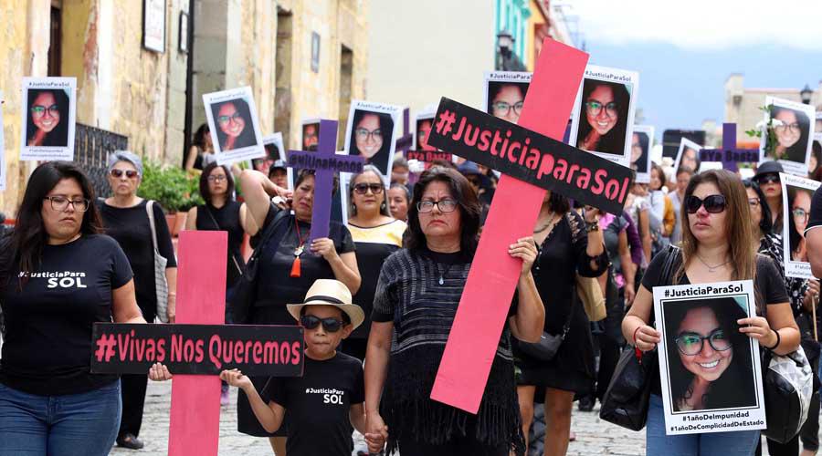 Justicia para Sol no llega, 17 meses de impunidad | El Imparcial de Oaxaca