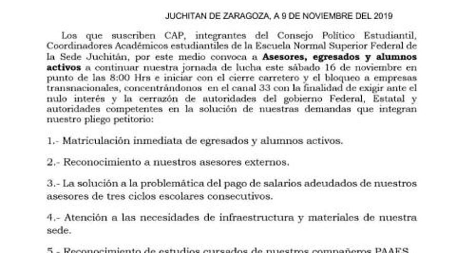 Salina Cruz, Juchitán y San Blas Atempa, en la lista negra de EU | El Imparcial de Oaxaca