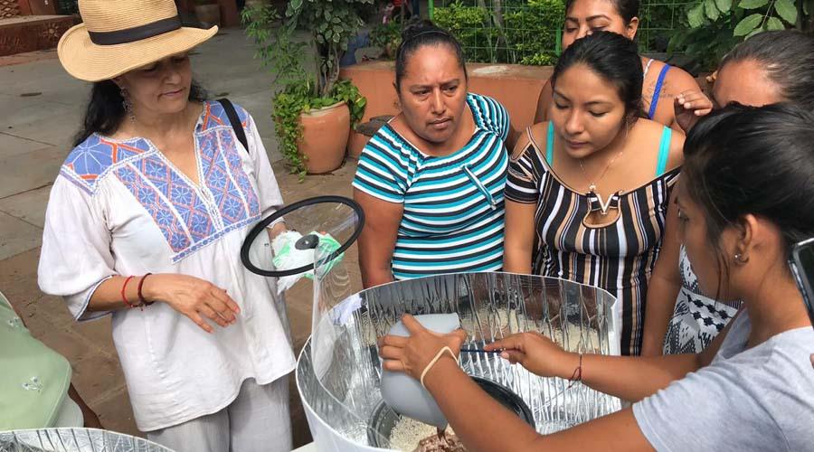 Realizan taller de hornos solares | El Imparcial de Oaxaca