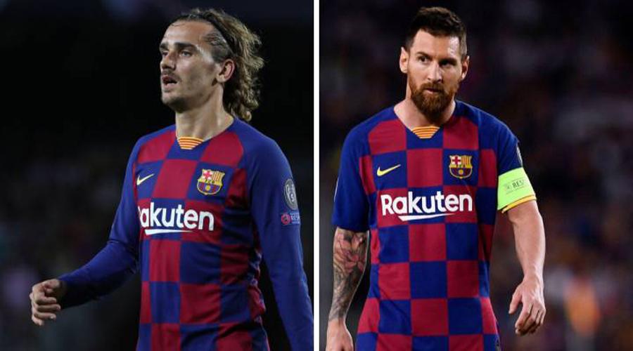 Messi recibe críticas tras negarle pase a Griezmann | El Imparcial de Oaxaca