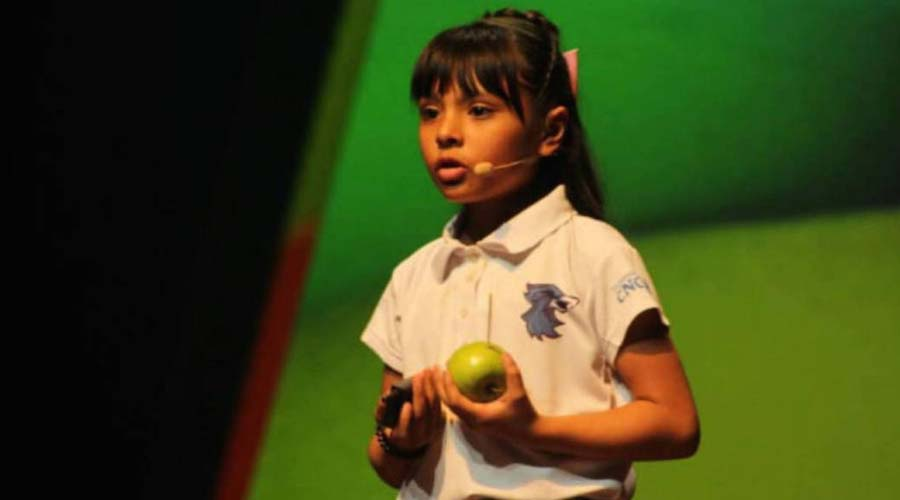 Adhara Pérez, la niña que tiene un IQ superior al de Einstein y cursa dos ingenierías   El Imparcial de Oaxaca