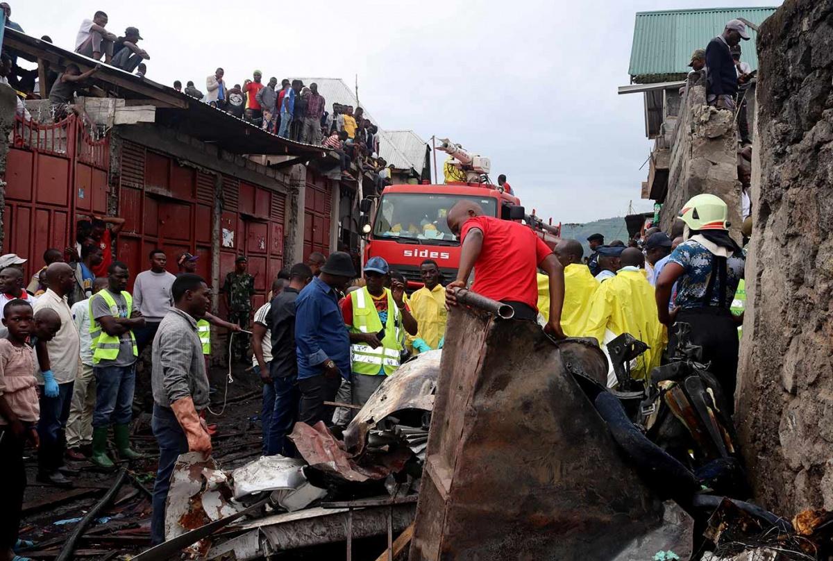 Al menos 23 muertos por accidente aéreo en Congo | El Imparcial de Oaxaca