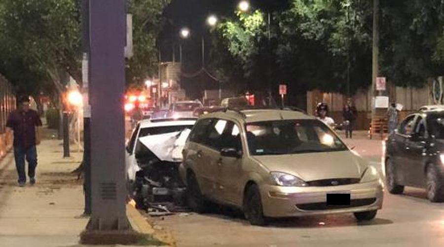 Se estampa contra vehículo | El Imparcial de Oaxaca