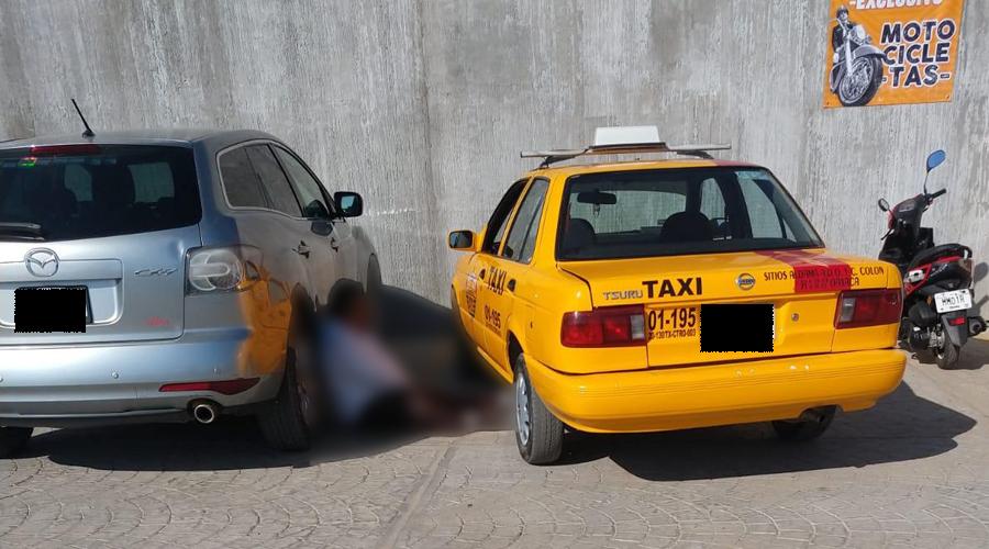 Ebrio taxista queda tirado | El Imparcial de Oaxaca