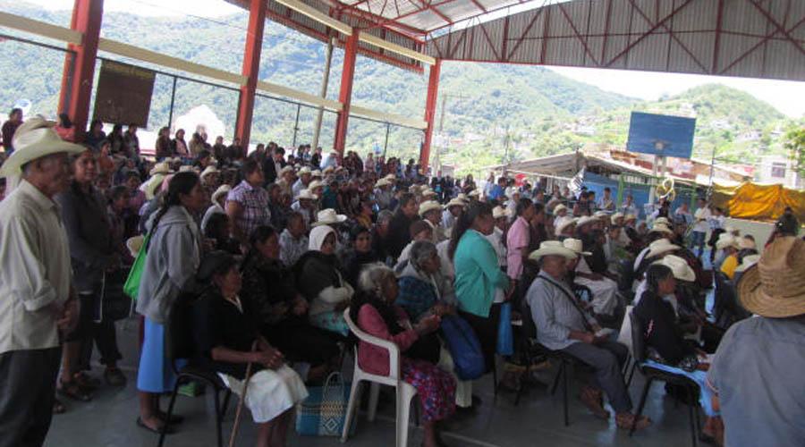 Sin violencia política la región Mazateca | El Imparcial de Oaxaca