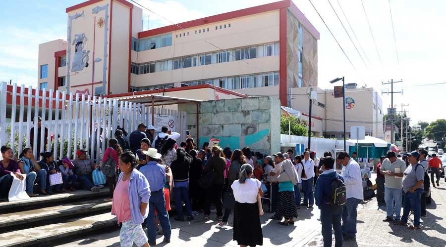 Terminará SSO con un pasivo de 8 mil millones de pesos | El Imparcial de Oaxaca