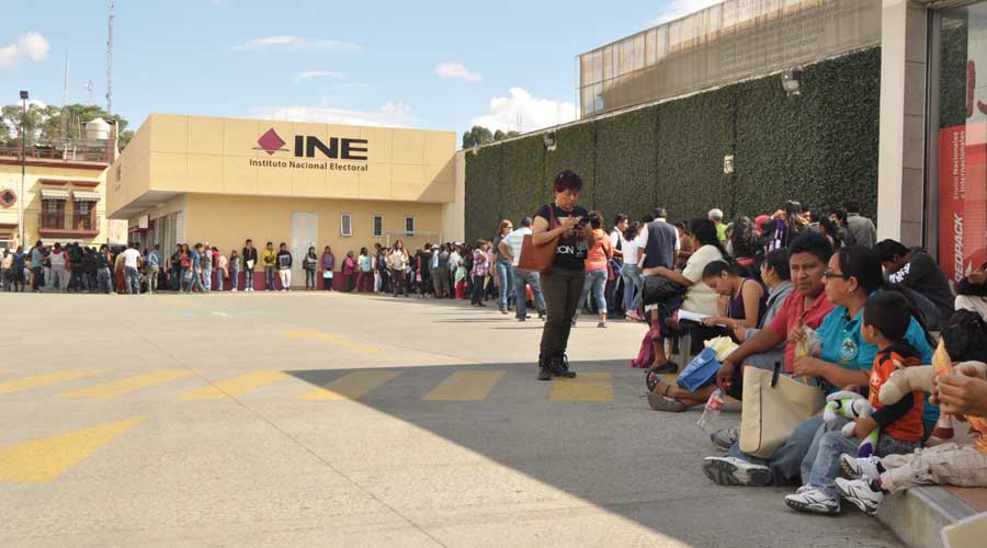 Llama INE a renovar 52 mil credenciales en Oaxaca | El Imparcial de Oaxaca