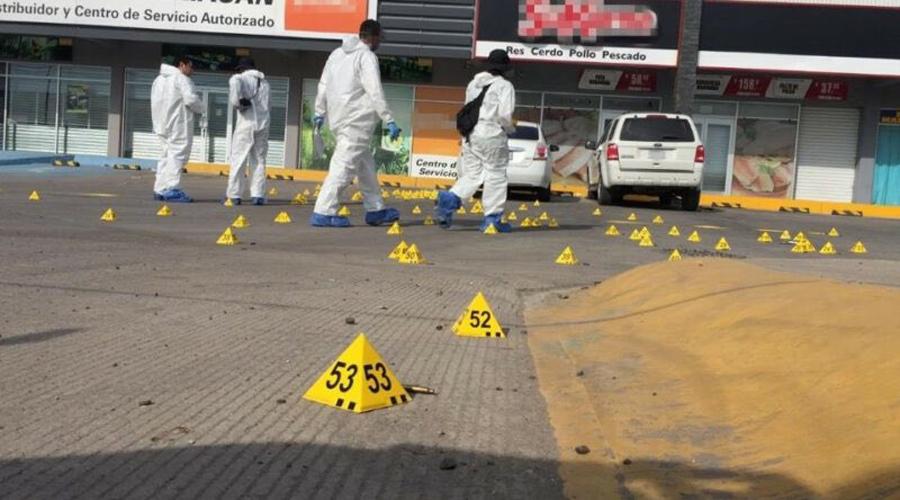 Video: captan el momento en el que disparan a policía estatal en Culiacán | El Imparcial de Oaxaca
