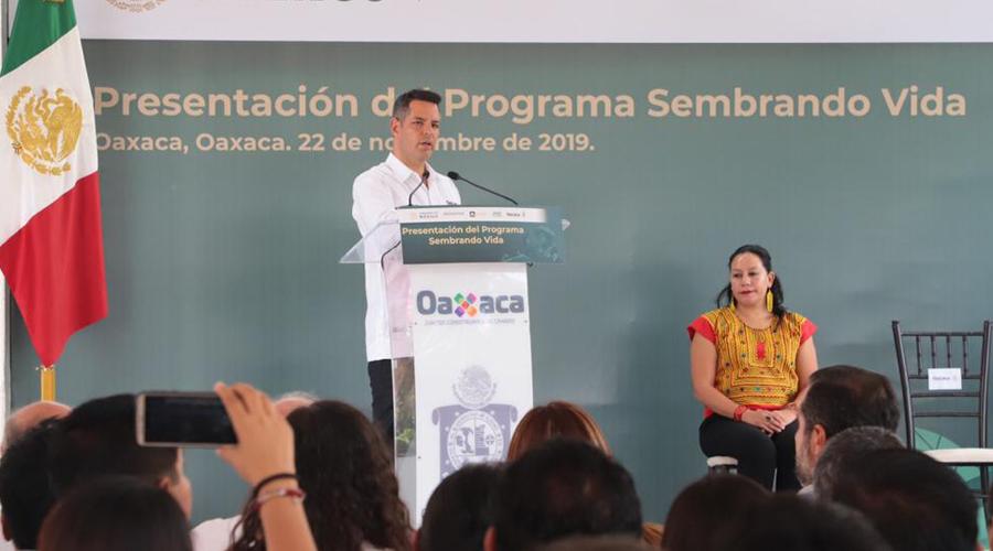 Lanzan Sembrando Vida; para Oaxaca 1 mil 800 millones de pesos   El Imparcial de Oaxaca