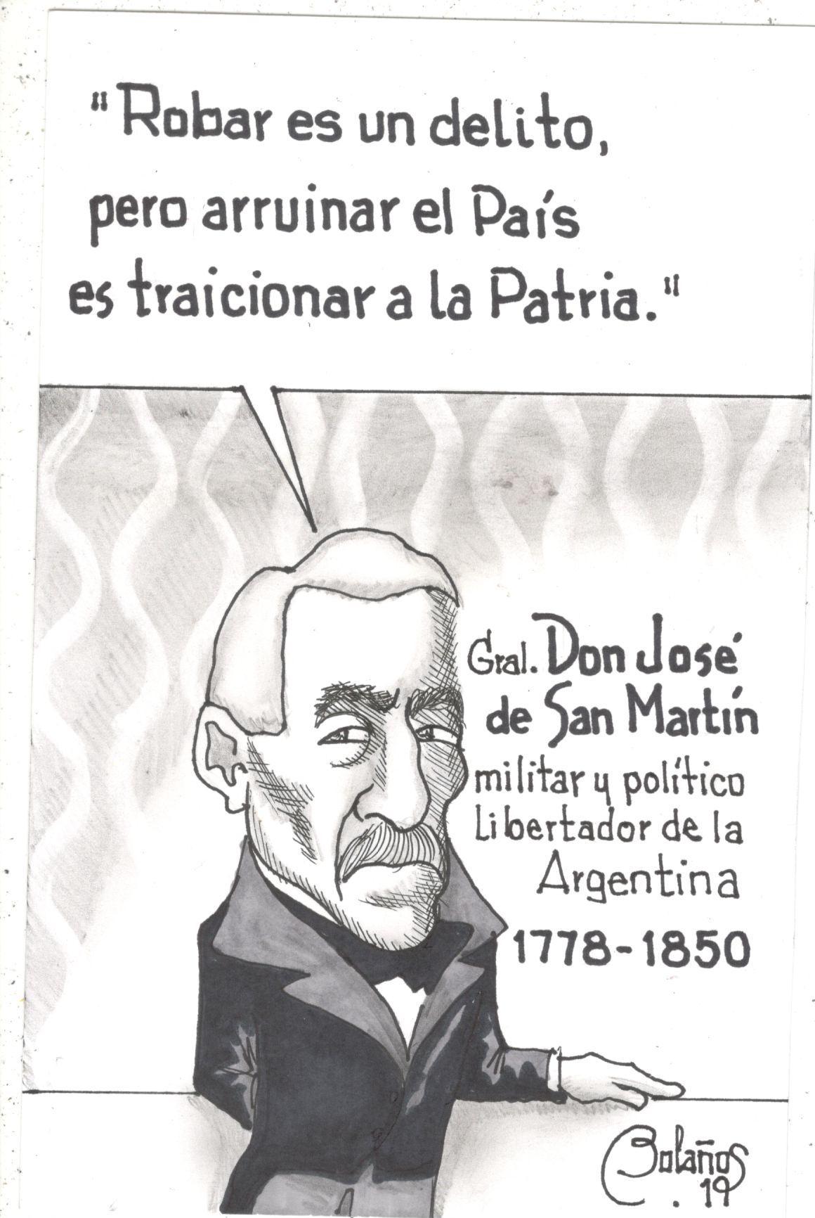 Gral. Don José de San Martín   El Imparcial de Oaxaca