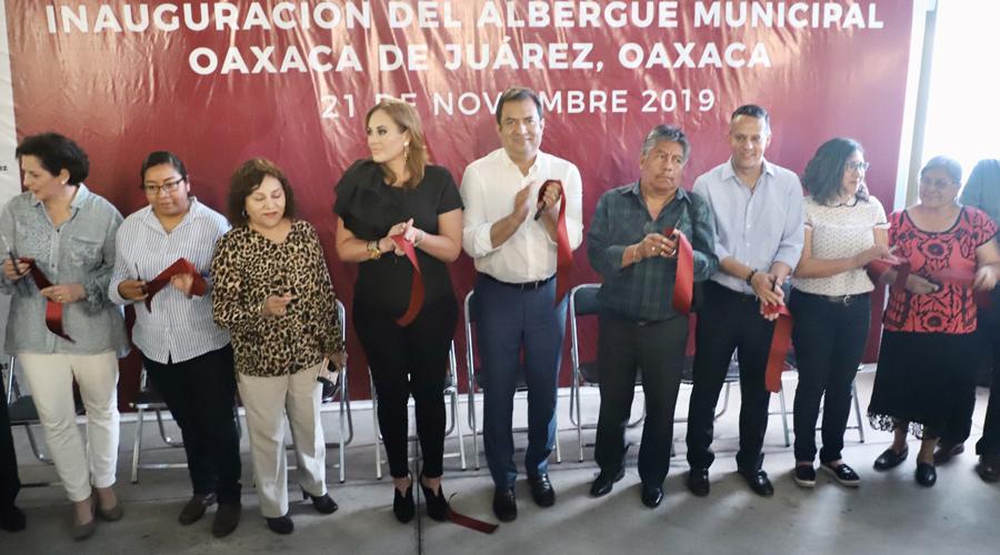 Inauguran Albergue Municipal para personas en situación de calle | El Imparcial de Oaxaca