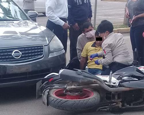 Atropellan a motociclista en Plaza Bella | El Imparcial de Oaxaca