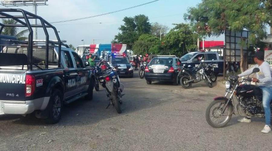 Saca susto a vecinos   El Imparcial de Oaxaca