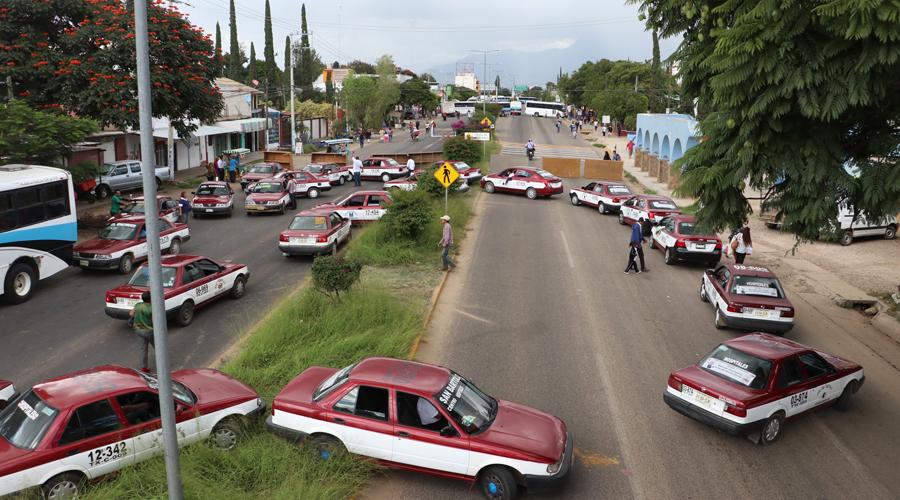 Acaba descanso, reactivan bloqueos en Oaxaca | El Imparcial de Oaxaca