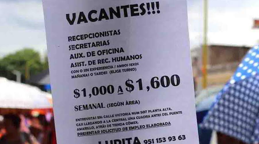 Hay empleos en Oaxaca, pero sin prestaciones   El Imparcial de Oaxaca