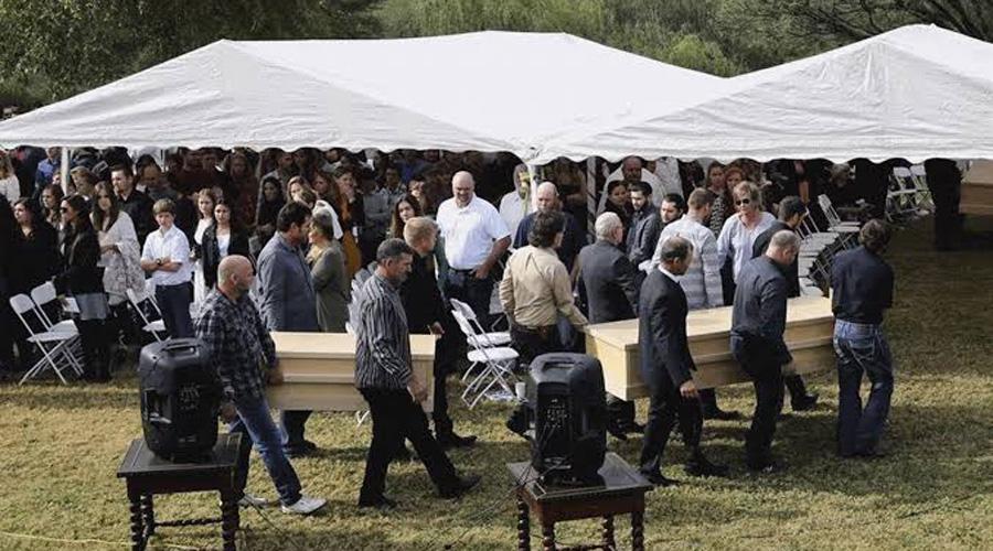 Realizan funerales de familia LeBarón, entre fuerte operativo de blindaje   El Imparcial de Oaxaca