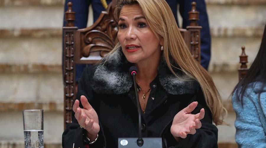 La Presidenta interina de Bolivia advierte que la justicia va tras Evo | El Imparcial de Oaxaca