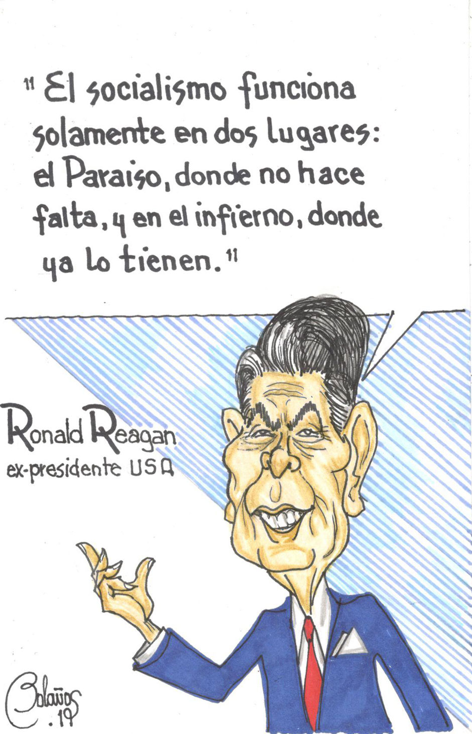 Ronald Reagan | El Imparcial de Oaxaca