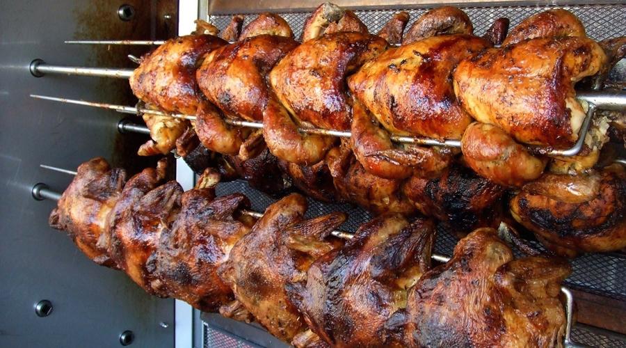 Video: En guatemala, hombre roba pollo rostizado directo del horno   El Imparcial de Oaxaca