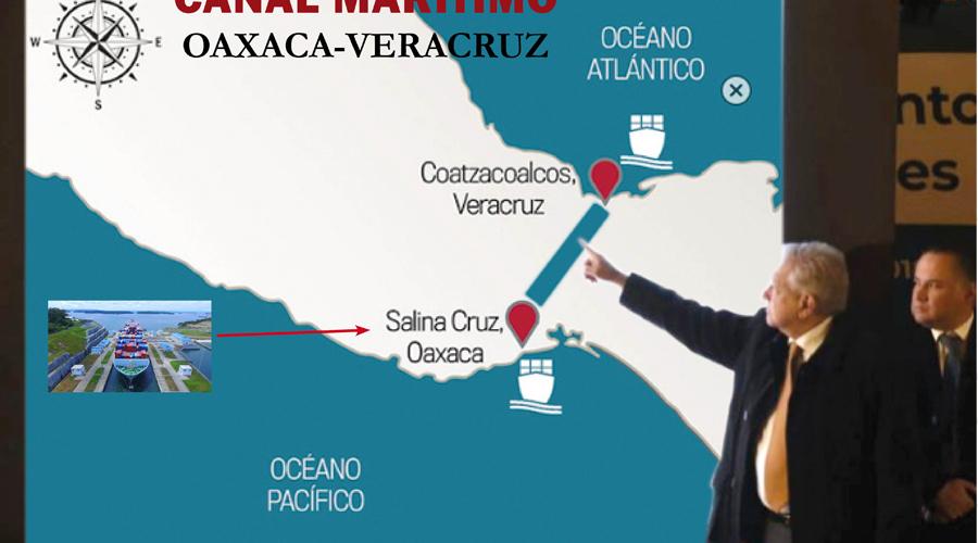 Anuncia AMLO canal interoceánico en el Istmo   El Imparcial de Oaxaca