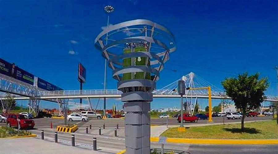 Inauguran torre BioUrban 2.0 para limpiar el aire   El Imparcial de Oaxaca