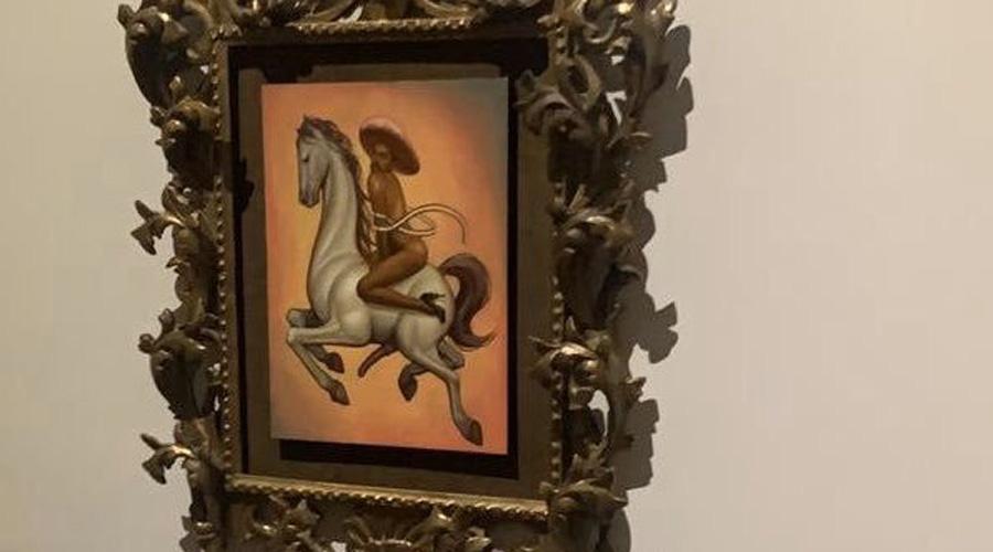 Video: Campesinos irrumpen en Bellas Artes para quemar pintura de Emiliano Zapata   El Imparcial de Oaxaca