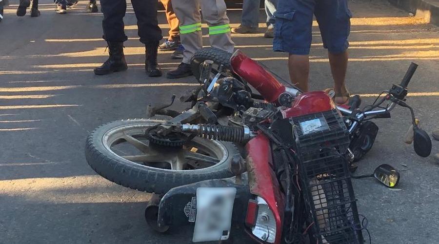 Motociclista ocasiona accidente en Juchitán | El Imparcial de Oaxaca