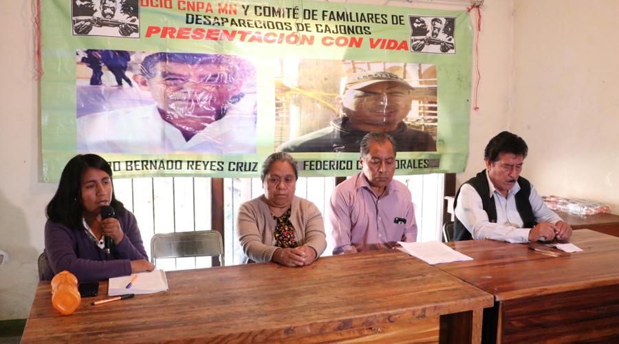 Cumplen dos años de desaparecidos habitantes de San Miguel Cajonos   El Imparcial de Oaxaca
