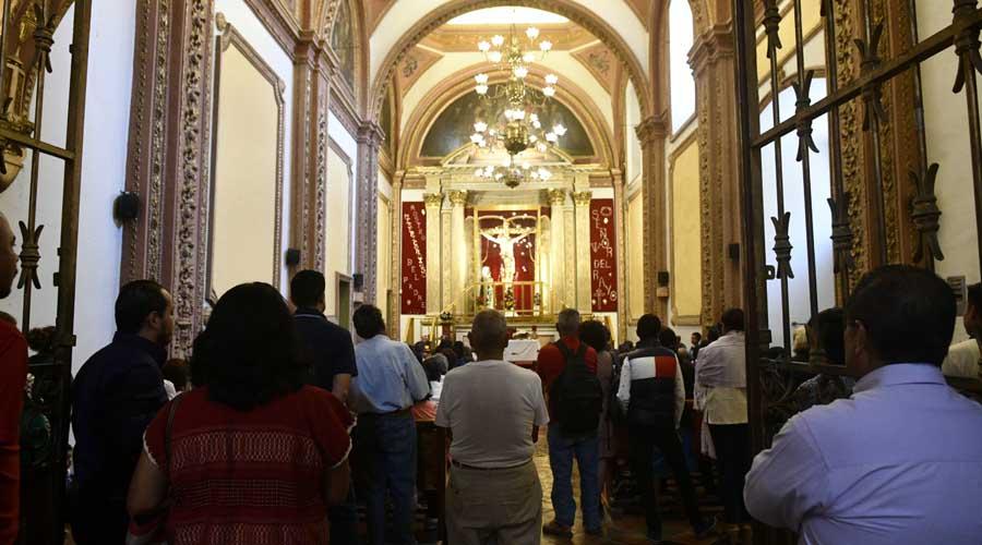 Acuden a templos a refrendar su fe | El Imparcial de Oaxaca