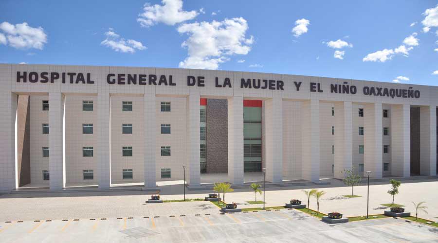Convertirán Hospital de la Mujer y el Niño en Centro Médico   El Imparcial de Oaxaca