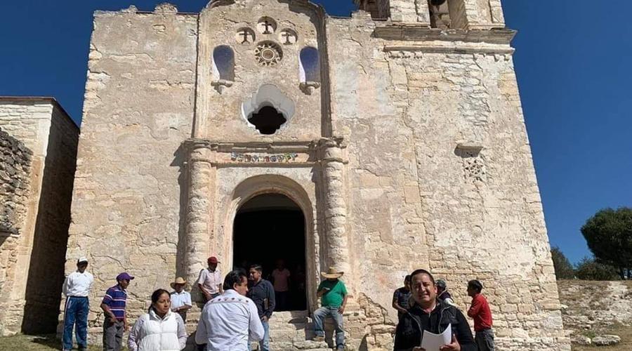 Restaurarán la iglesia en Adequez | El Imparcial de Oaxaca