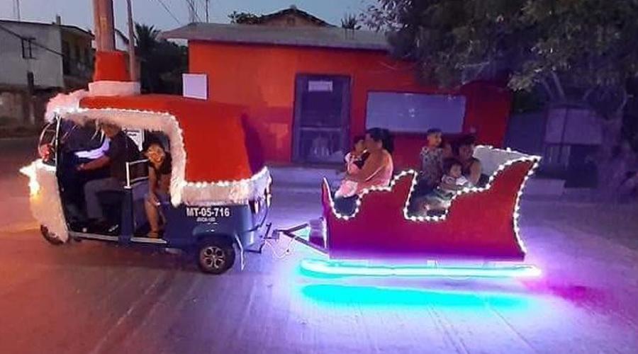 Moto trineo recorre las calles de Juchitán | El Imparcial de Oaxaca
