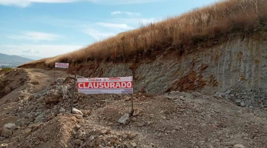Clausuran obras en el Cerro del Crestón | El Imparcial de Oaxaca