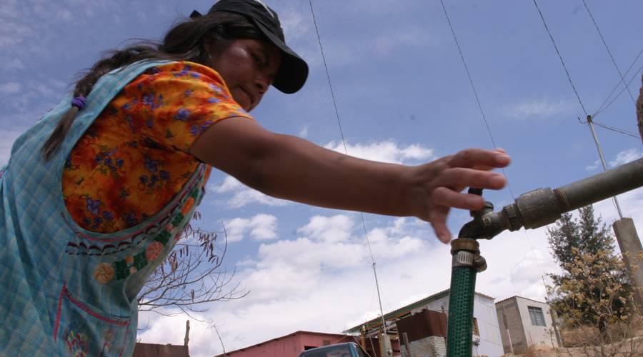 Sigue el retraso de distribución de agua | El Imparcial de Oaxaca