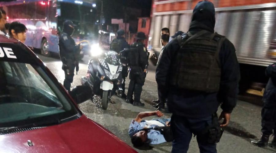 Borrachito es arrollado por un taxista foráneo en Periférico | El Imparcial de Oaxaca