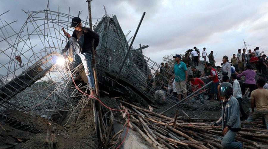 Al menos 3 muertos en Camboya por derrumbe de templo   El Imparcial de Oaxaca